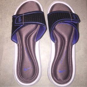 Purple Sponge Nike Sandals